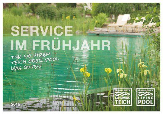 Service im Frühjahr. Coverfoto: Biotop Landschaftsgestaltung