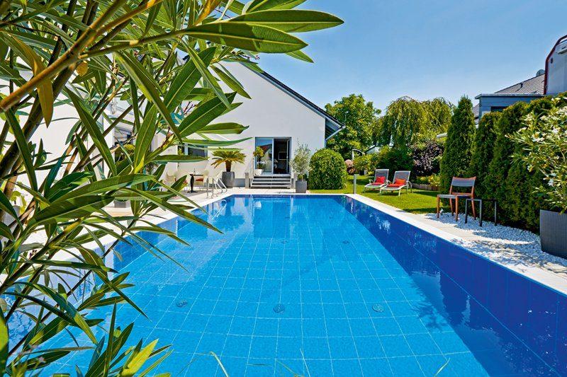 Bayrol Gartenpool Pool Gegenstromanlage Schwimmbadbau