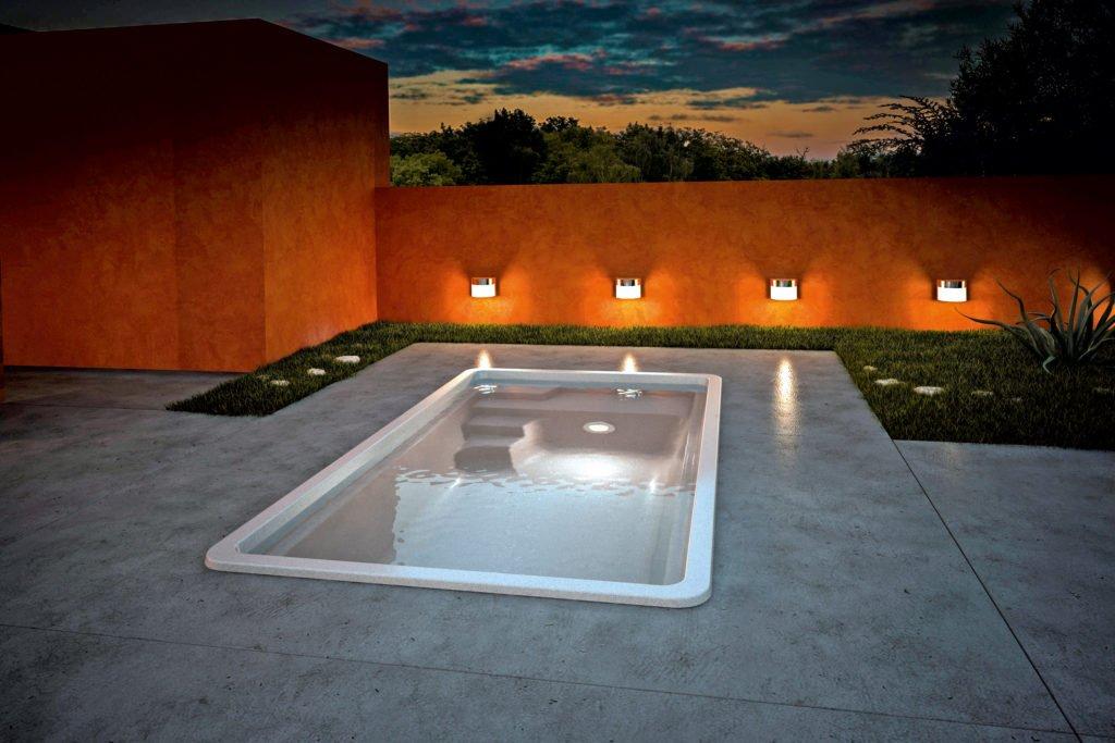 Minipool Gartenpool Pool Garten Aquacomet