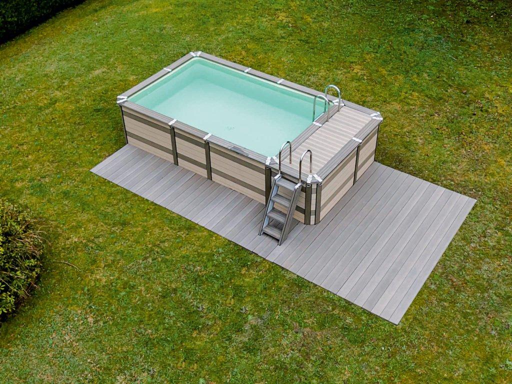 Minipool Gartenpool Pool Garten Azteck