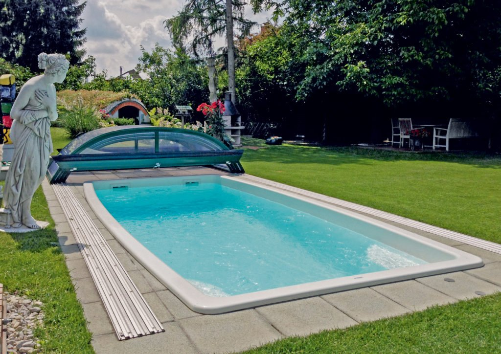 Minipool Gartenpool Pool Garten Polyfaser