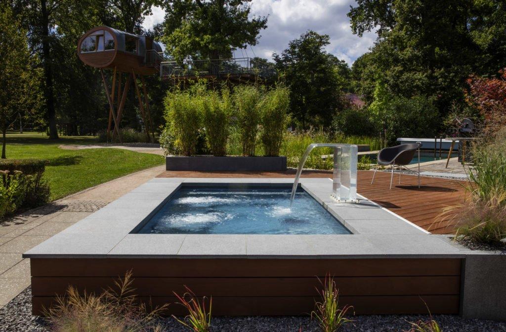 Minipool Gartenpool Pool Garten Riviera-Pool C-Side