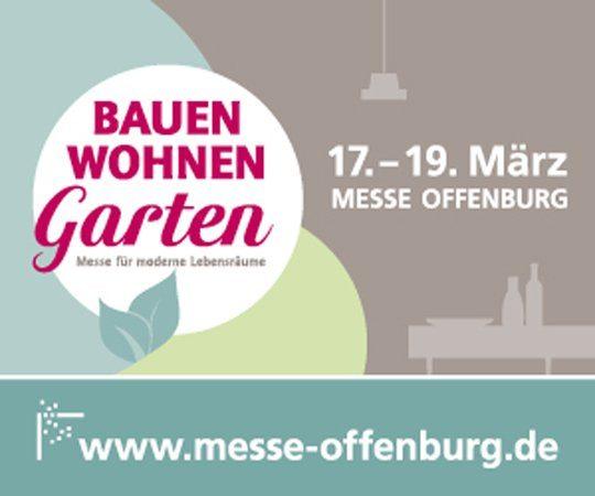 """Messe """"Bauen Wohnen Garten"""" in Offenburg"""