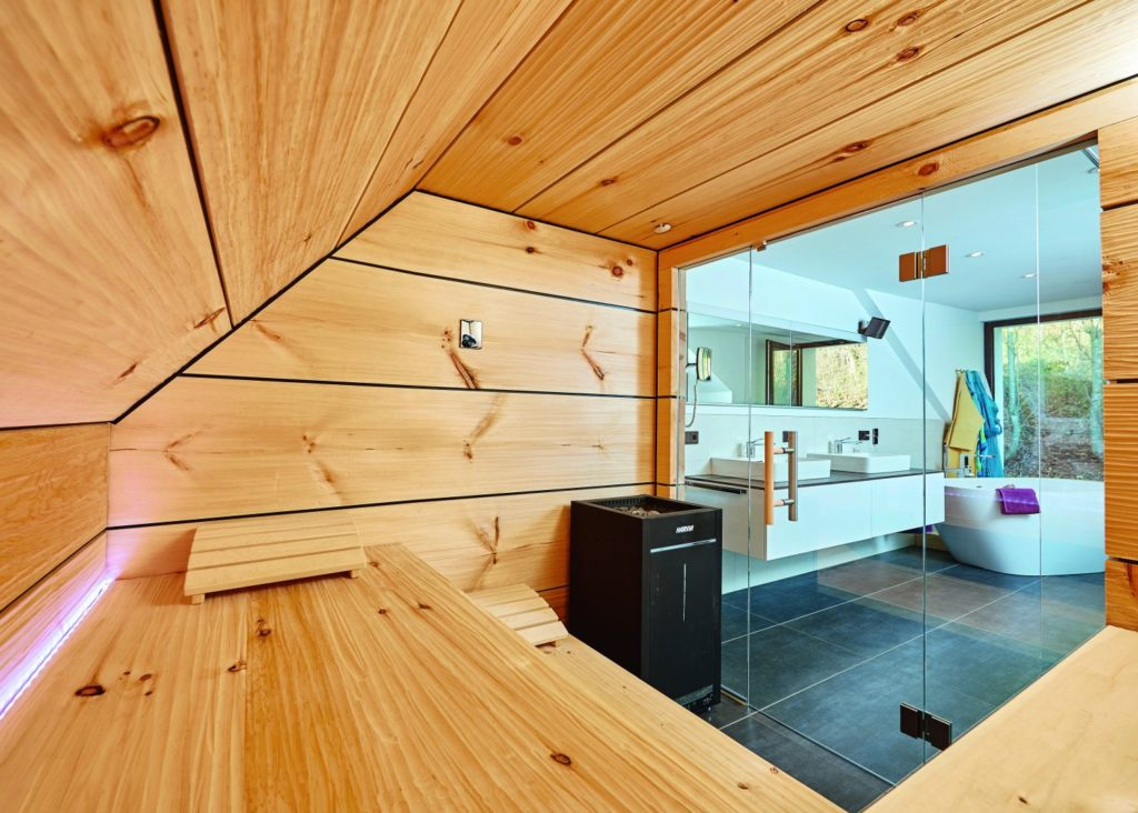Welcher Saunatyp sind Sie - Massivholzsauna oder Elementsauna