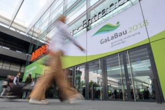 GaLaBau-Messe 2018 in Nürnberg. Foto: Messe Nürnberg
