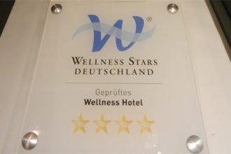 Wellness Stars Plakette