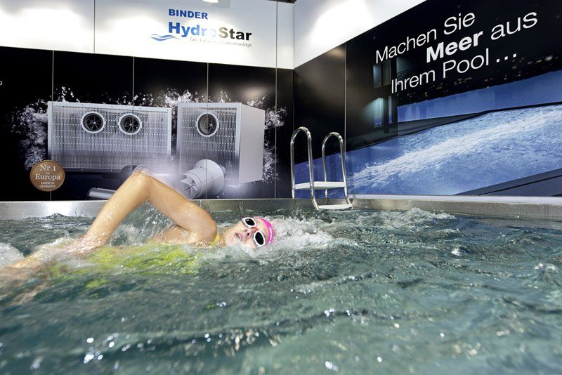 Binder Gegenstromanlage Pool Hydrostar