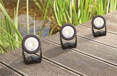Neue LED-Gartenbeleuchtung von Oase. Foto: Oase