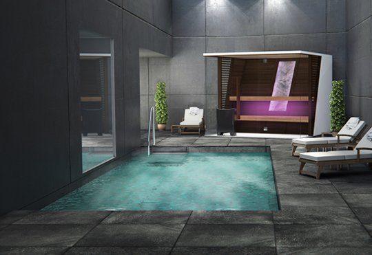 Die Sauna von heute: Auf das Design kommt es an. Foto: Tylö