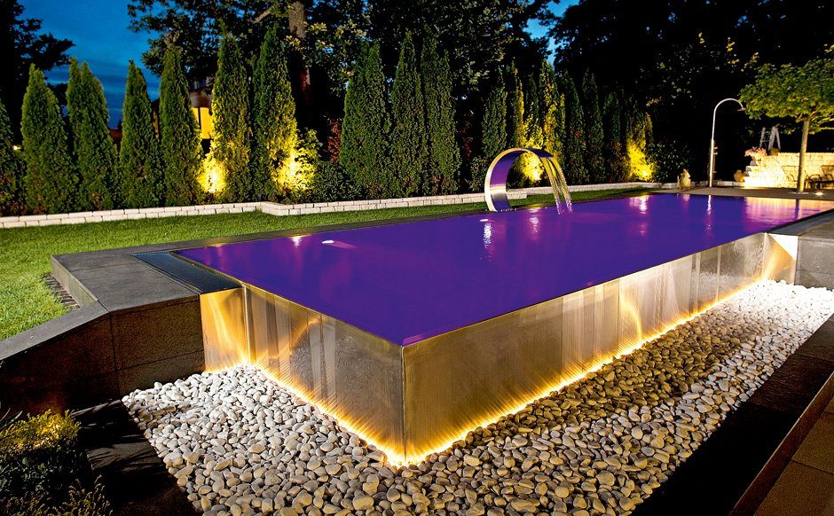 Infinity-Kante Infinity-Pools Infinity-Pool Pool Beckenarten