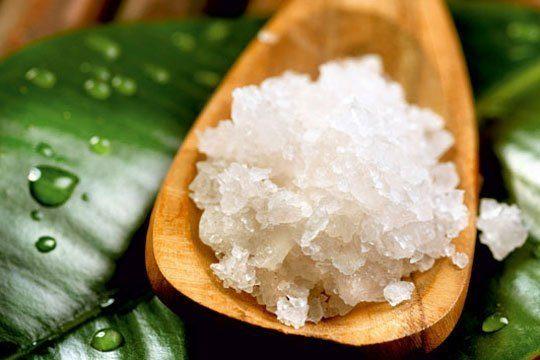 Salz und Sole werden auch in der Wellness gerne eingesetzt