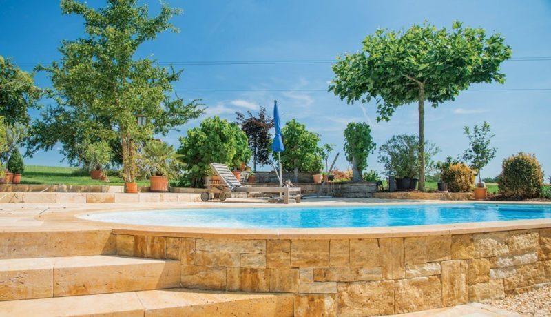 Pool Gartenpool Schwimmbad Wärmepumpe