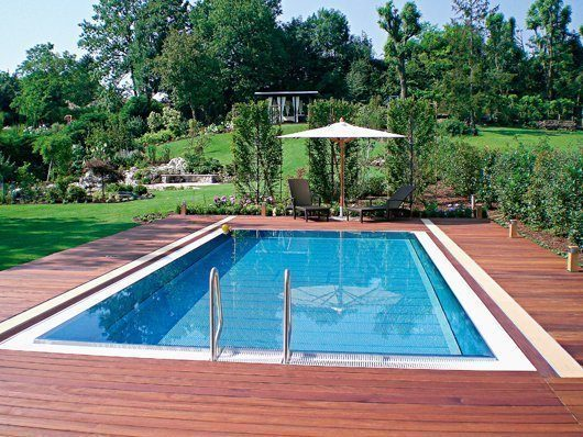 Poolabdeckung Hubboden Swimming-pool