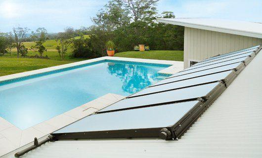 Solarabsorber Poolheizung