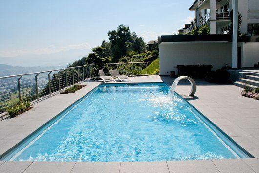 Schwimmbad Überlaufrinne Pool Skimmer Umwälzpumpe Poolwasser