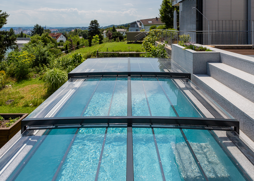 Nemo Pool GmbH Überdachung GFK Pools