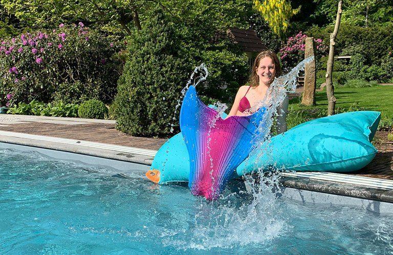 Neue Schauanlage von Zinsser Gärten & Pools eröffnet. Foto: Zinsser Garten & Poolbau