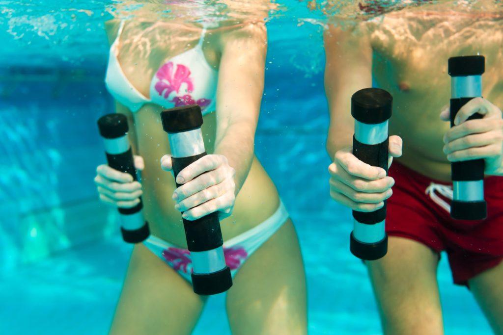 Fitness im Pool Wasserattraktion Pool Zubehör Aquafitness
