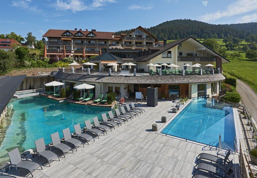 Das Hotel Heselbacher Hof in Baiersbronn, Schwarzwald