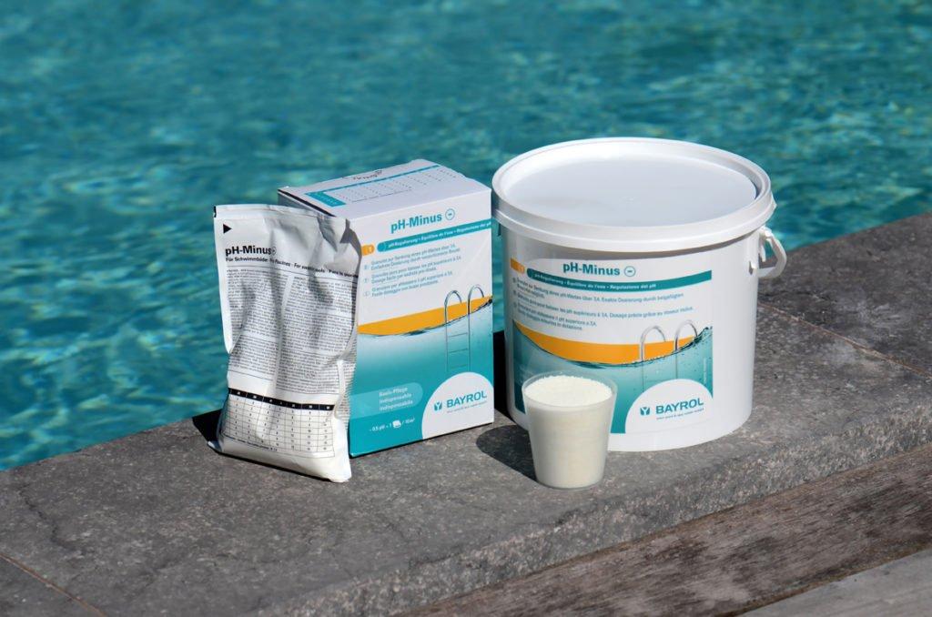 Pool Zubehör Wasserpflege Stoß-Chlorung pH-Wert Filtration Filtersystem