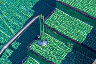 Poolreinigung Swimming-pool Chlor Wasserkreislauf Pool
