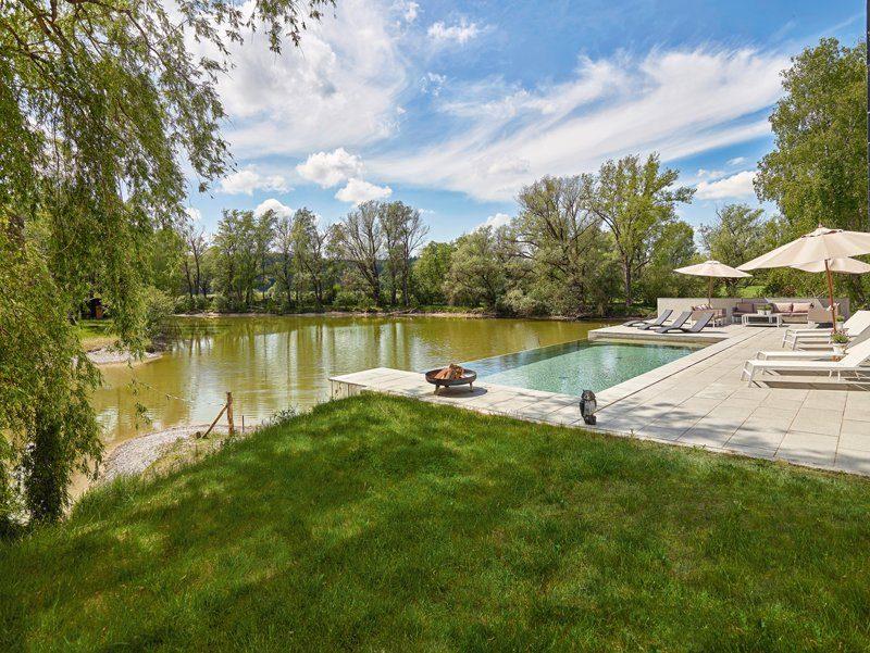 Pool Garten Schwimmbadbau Wasser Gegenstromanlage