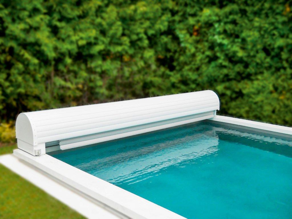 Poolüberdachung Poolabdeckungen Pool Rollo Solar Unterflur Oberflur