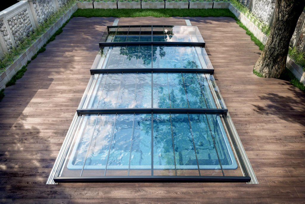 Poolüberdachung Poolabdeckungen Pool Aquacomet