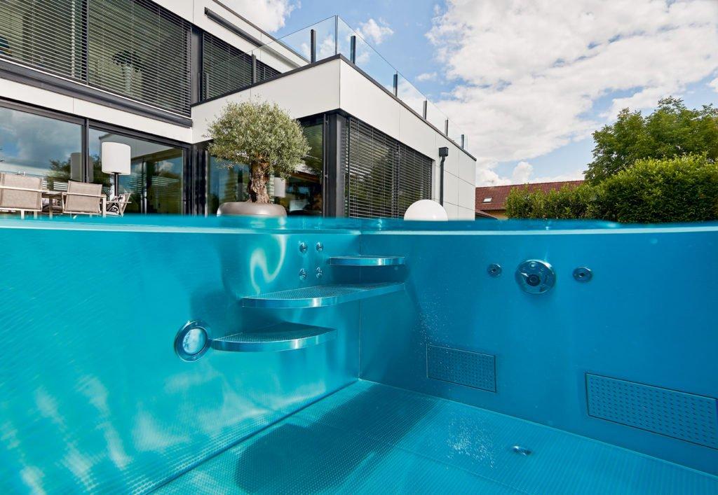 Düse pH-Wert Edelstahl-Pool Pool Zubehör Pool Swimmingpools Wellnesshotel