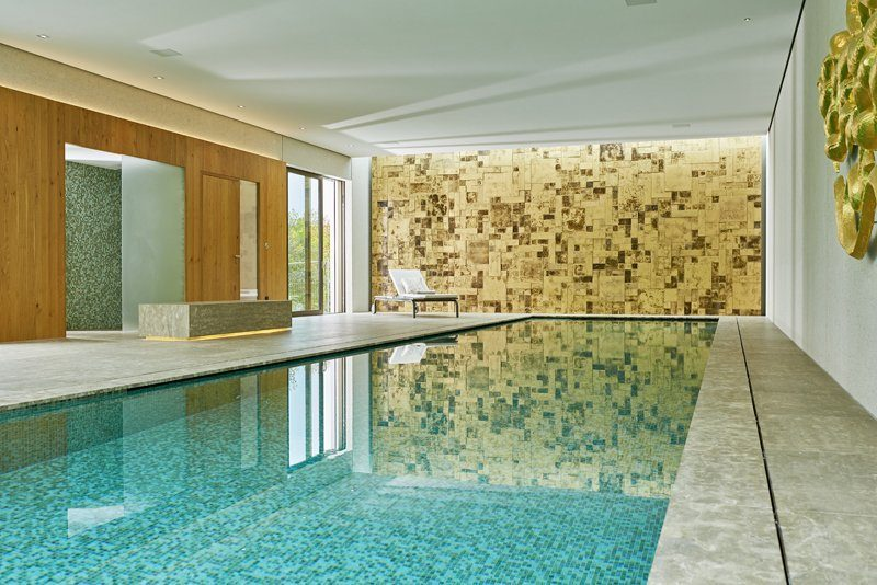 Pool bauen Pool Entfeuchtung Schwimmbad