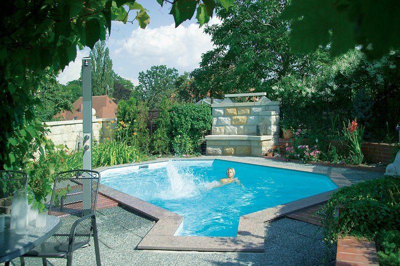Pool Stahlwandbecken Swimmingpool Solar Zodiac