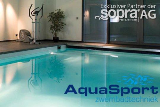 Aquasport Zwembadtechniek sopra Pool
