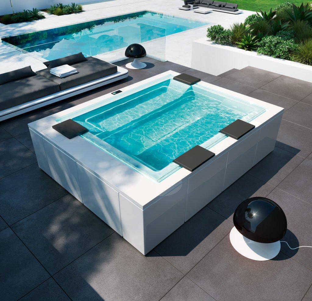 Im einem Whirlpool lässt es sich prima entspannen.
