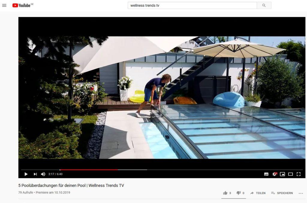 Poolüberdachung: 5 Tipps fürs eigene Schwimmbad - Ein Screenshot eines Videospiels - Freizeit