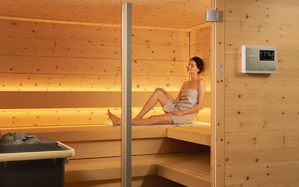 Sauna: Wärme, die uns gut tut. Foto: Klafs