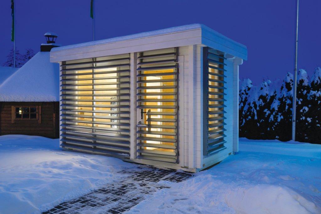Sauna: Wärme, die uns gut tut. Foto: Butenas