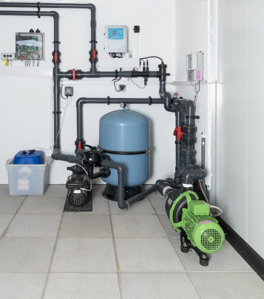 Pool Zubehör Filtersystem Filtration Filtertechnik Wasseraufbereitung Umwälzpumpe