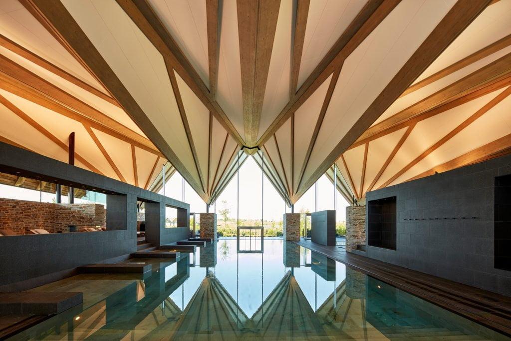 """Wellnesshotel """"Great Northern"""" in Dänemark mit großzügigem Spa-Bereich, Infinity-Pool, drei Saunas, Whirlpool und Dampfbädern"""