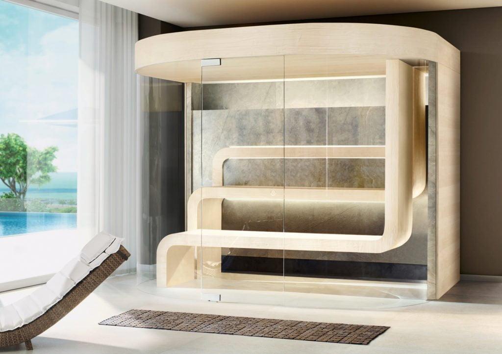 """Neues Sauna-Design """"Flow"""" von Butenas"""