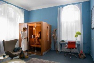 Regelmäßiges Saunieren in der eigenen Sauna hilft gegen Allergien