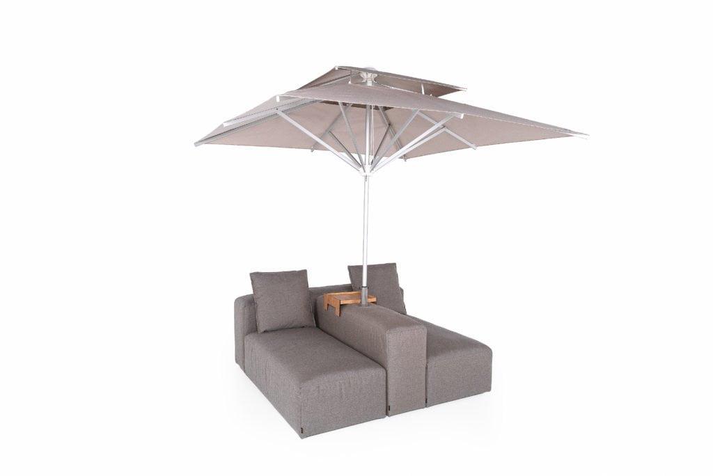Die Outdoormöbel von Ikono können individuell angepasst werden. Foto: Ikono