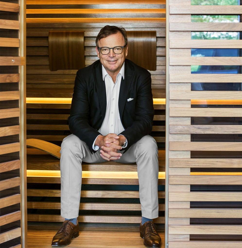 Stefan Schöllhammer, Geschäftsführer des Saunaherstellers Klafs im Interview mit schwimmbad.de über Saunieren in Zeiten der Corona-Krise