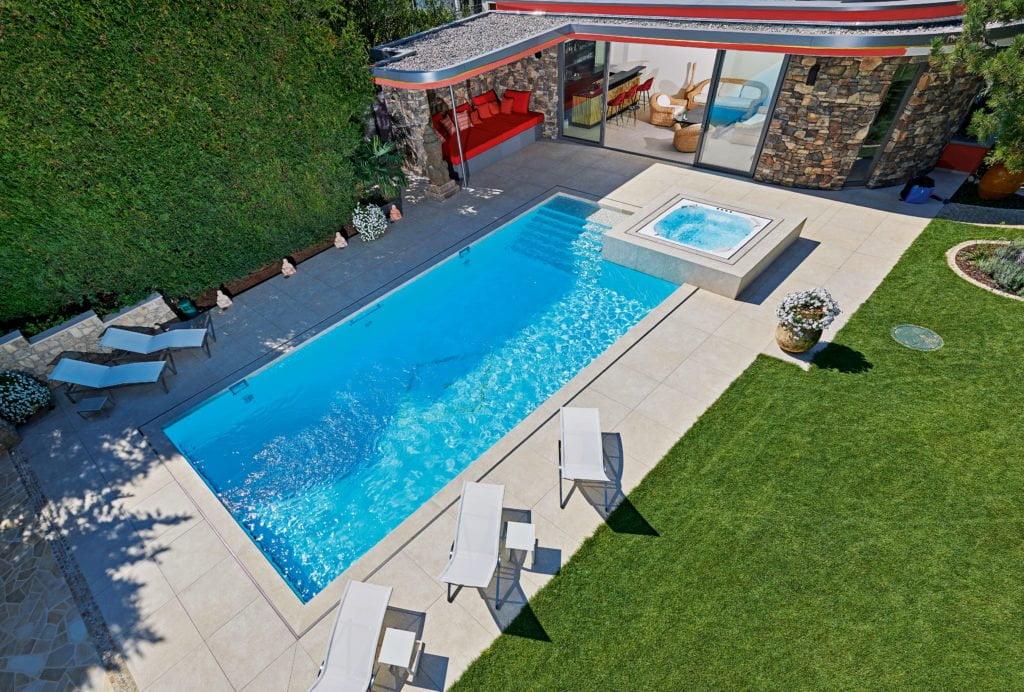 Mit Swimming-Pool: Ein Ort zum Wohfühlen