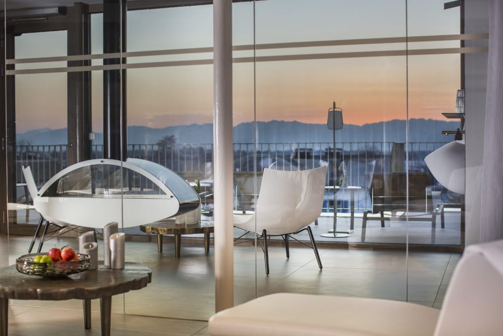 Schöne Aussicht im Boutiquestyle Hotel Hirschen Foto: Petra Rainer