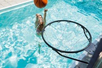 Fitness-Tipps für den Pool mit Basketballkorb von Eichenwald