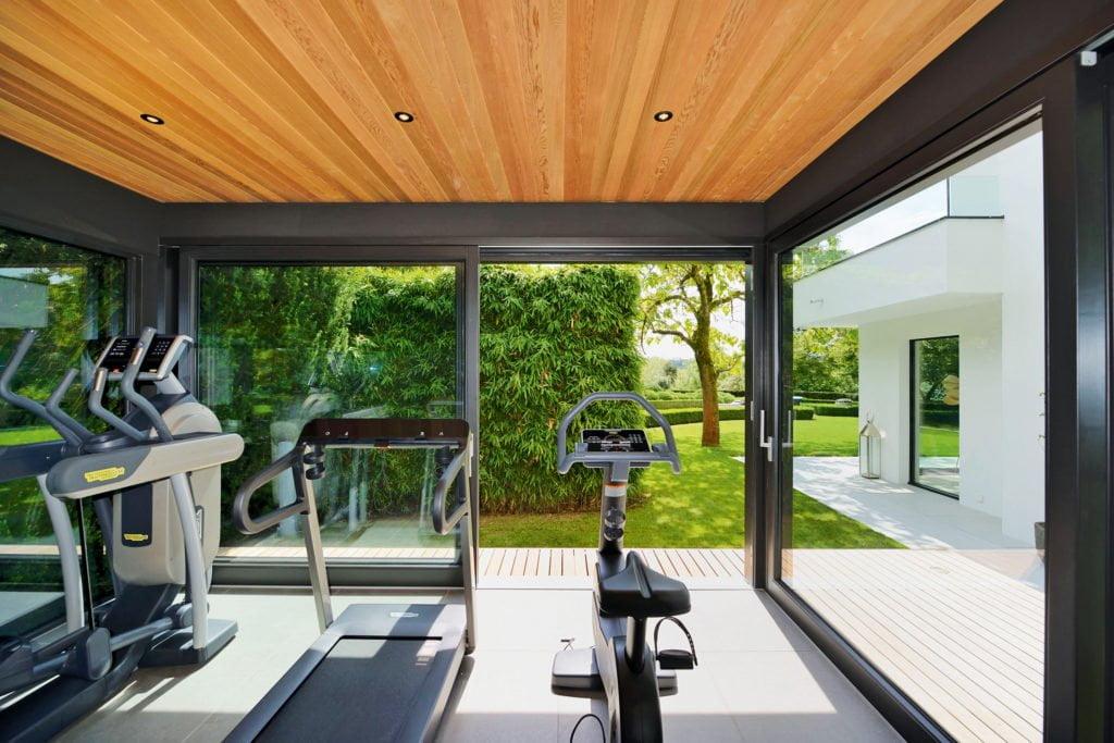 Workout im Hummel Blockhaus