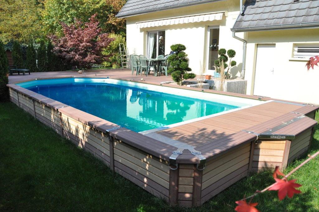 """Stahlwandbecken """"Azteck Pool"""" mit Pool Isolierung"""
