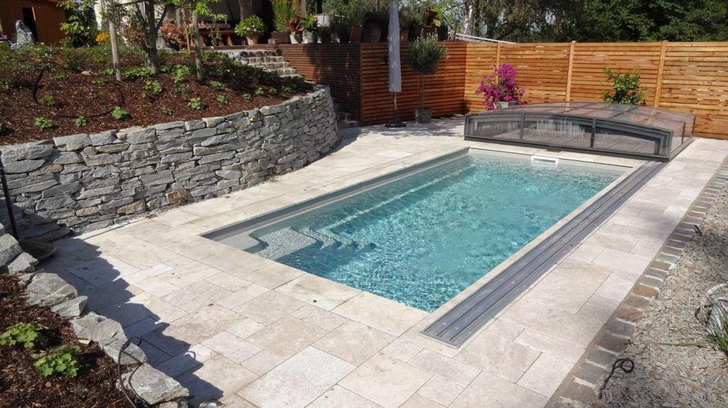 "Fertigbecken ""Compass Carbon Ceramic Pool Classic"" mit Pool Isolierung"