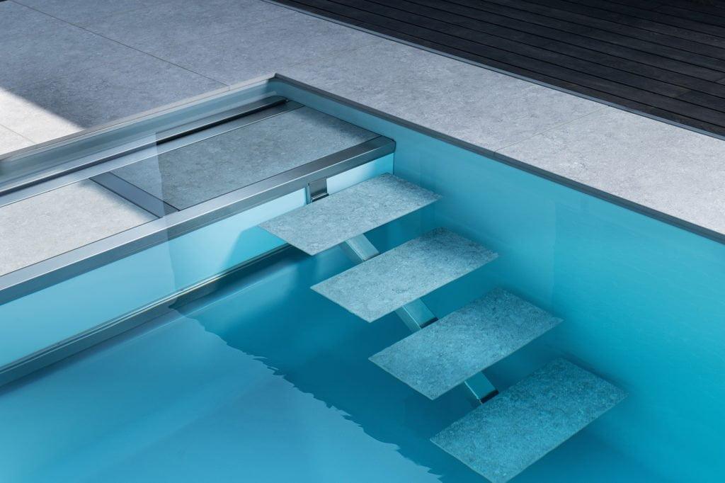 """Fertigbecken """"Loft"""" von Leidenfrost-pool mit Pool Isolierung"""