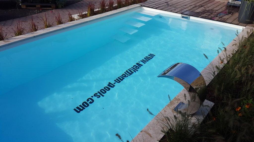 """Fertigbecken """"Gartenbad 756"""" mit Pool Isolierung von Veltmann Pools"""